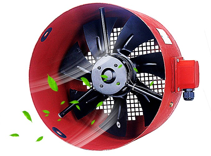 G90G132G160A Frequency speed control motor fan cooling fan Outer rotor shaft flow fan 380V