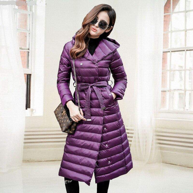 Épais Mince Down Veste purple Femmes Mujer Black red Noir Grande Capuche Taille À Chaud gray Coton Hiver Manteaux Green Chaqueta dark wtqPcXEX