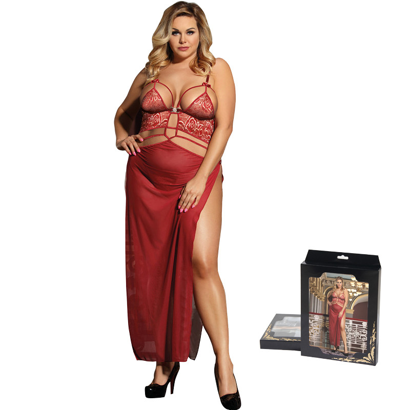 Comeonlover Womens Babydoll Lingerie With Leg Ring Halter Adjustable Women Nightwear Sexy Costumes Femme Short Nighties Rl7356 Novelty & Special Use