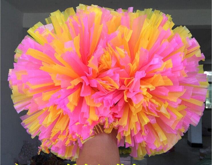 Kostenloser Versand Spiel Pompons Günstige praktische Cheerleading - Mannschaftssportarten - Foto 5