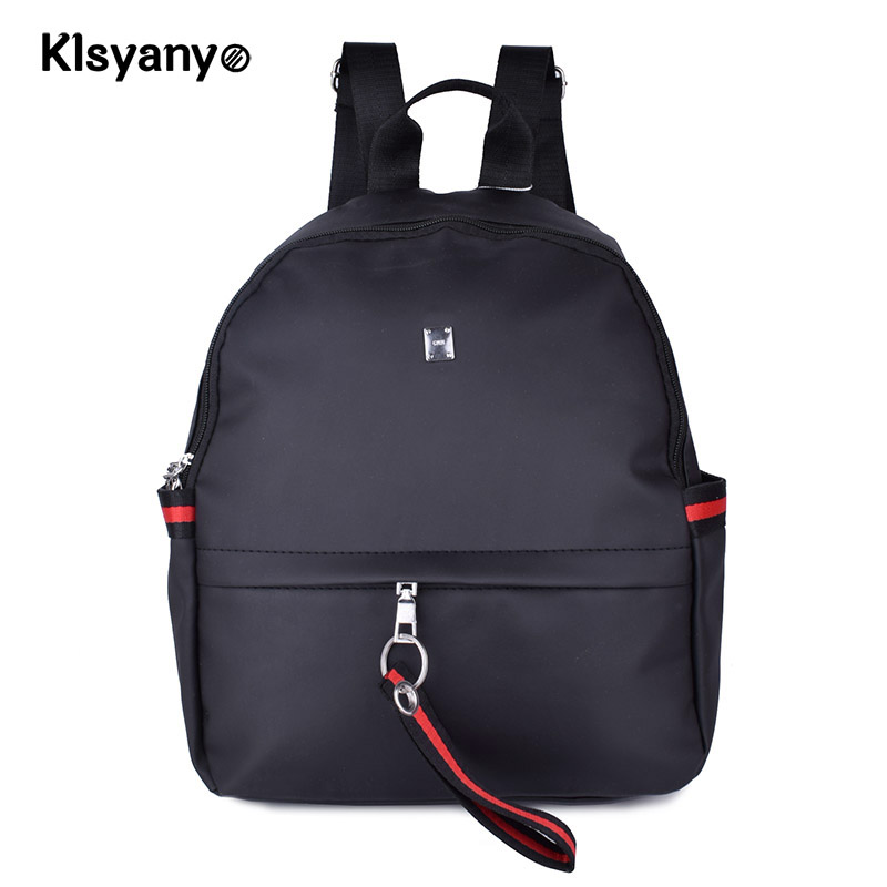 Klsyanyo Ladies Oxforf Backpacks Teenagers Travel Bags Mochilas Mujer School Bag For College Girls Students