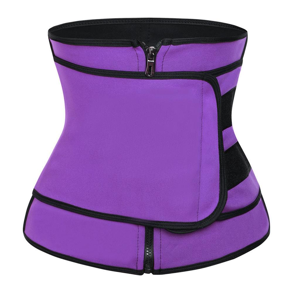 DropShipping Women Neoprene Shapewear Waist Trainer Tummy Belly Girdle 3XL Hot Body Shaper Waist Cincher Corset Modeling Strap in Waist Cinchers from Underwear Sleepwears