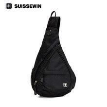 Swisswin Messenger Taschen Männer Einzelner Schulterbeutel Mode Frauen Brusttaschen Nylon Reise Kleine Schlinge Taschen Für iPad Mini sn9966