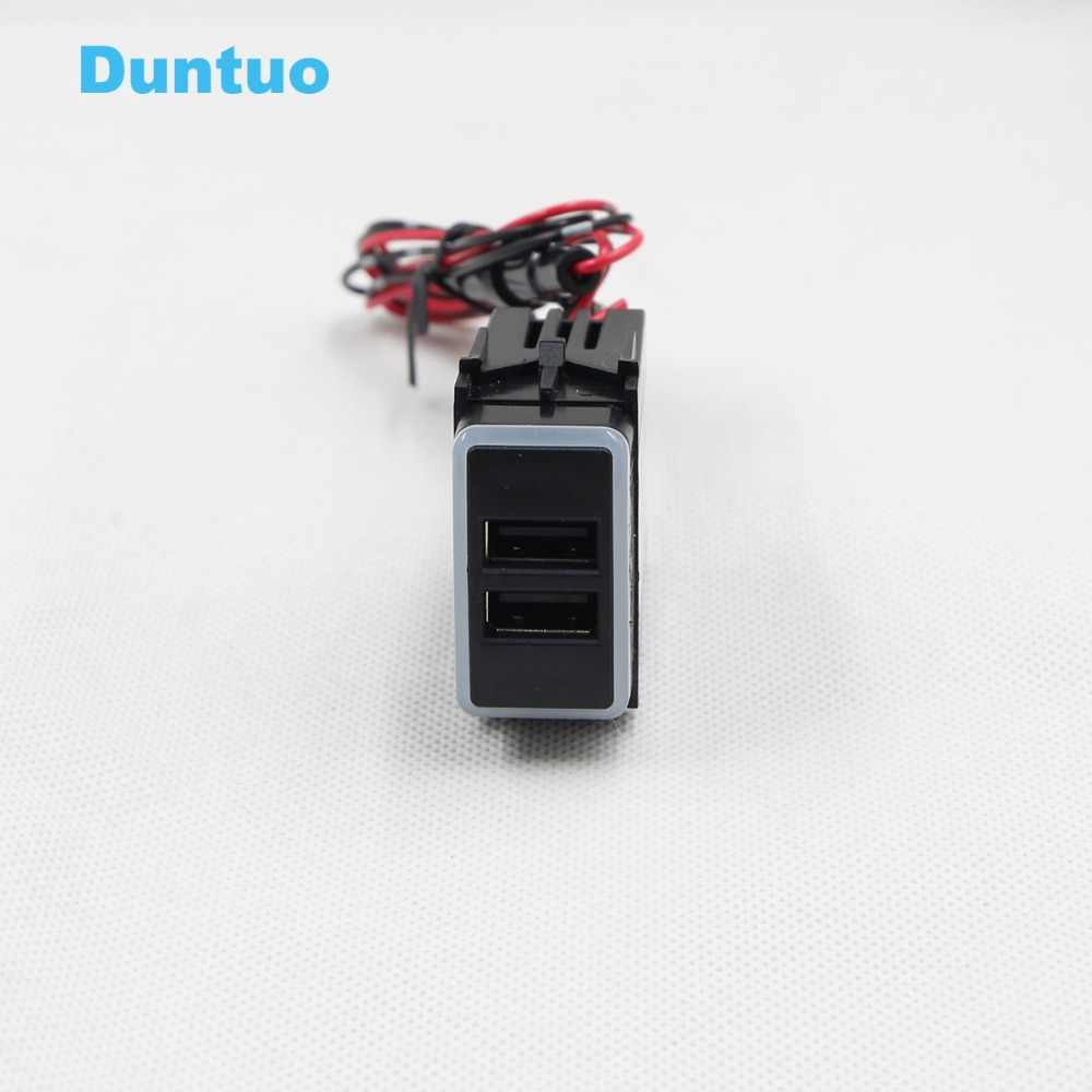 QC3.0 Quickcharge Car Charger Double USB Phone PDA DVR Adapter For Nissan