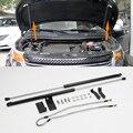 Подходит для Ford Explorer 2013-2015  автомобильные Внешние аксессуары  стальной черный передний капот  поддерживающий амортизатор  2 шт.