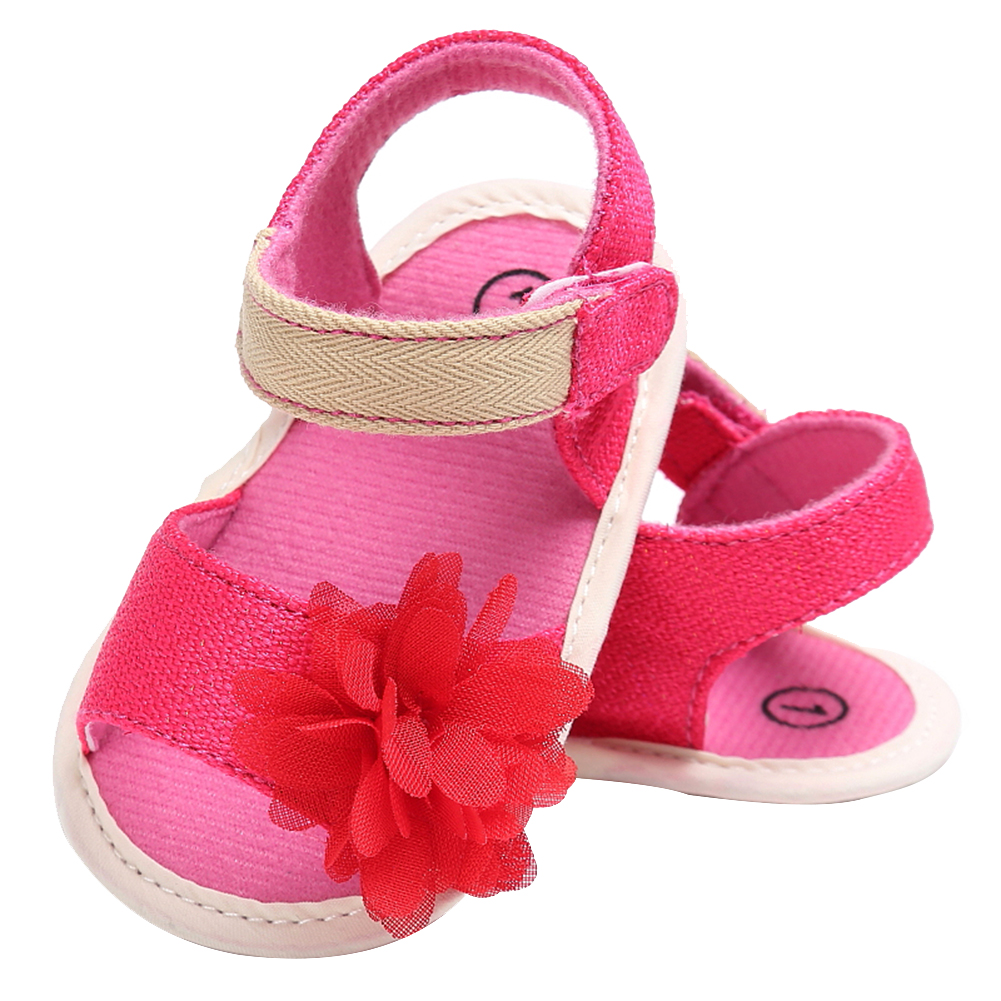 Baby First Walkers Newborn Infant Girls Soft Sole Anti Slip Flower Shoes Toddler Kids Shoes Baby Moccasins Prewalkers for 0-18