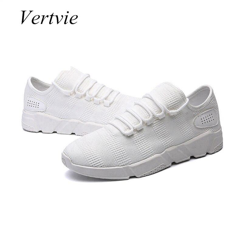 Vertvie сетки воздуха Кроссовки для Для мужчин спортивным Развлечения Обувь внутренней Обувь для прогулок дышащая Спортивная обувь лето 2018