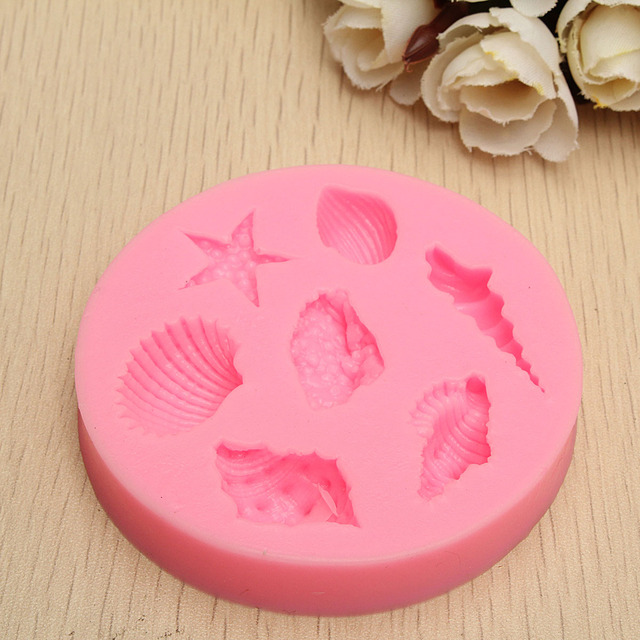 Sea Shell Handmade Soap Mold