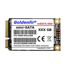 Disco rígido mini 256 gb do disco rígido de goldenfir msata 256 gb para o mini pc(China)