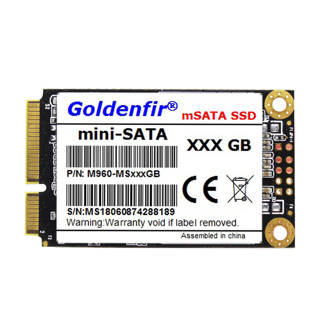 Goldenfir Ssd Msata 256gb Mini Hard Hard Drive Mini Disc 256gb For