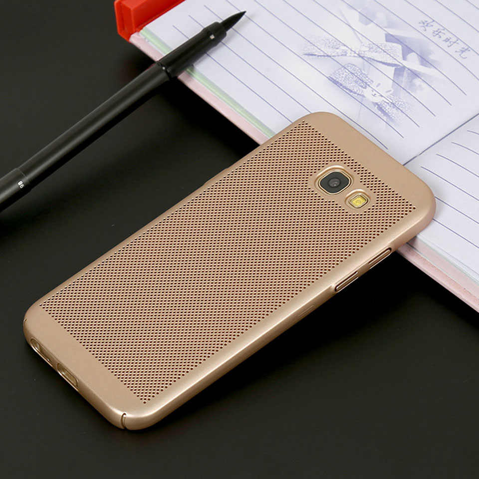 Heat Dissipation Case For Samsung Galaxy J3 J4 J5 J6 J7 Prime On5 On7 2016 A3 A5 A7 2017 A6 A8 2018 Cover Plastic Phone Cases