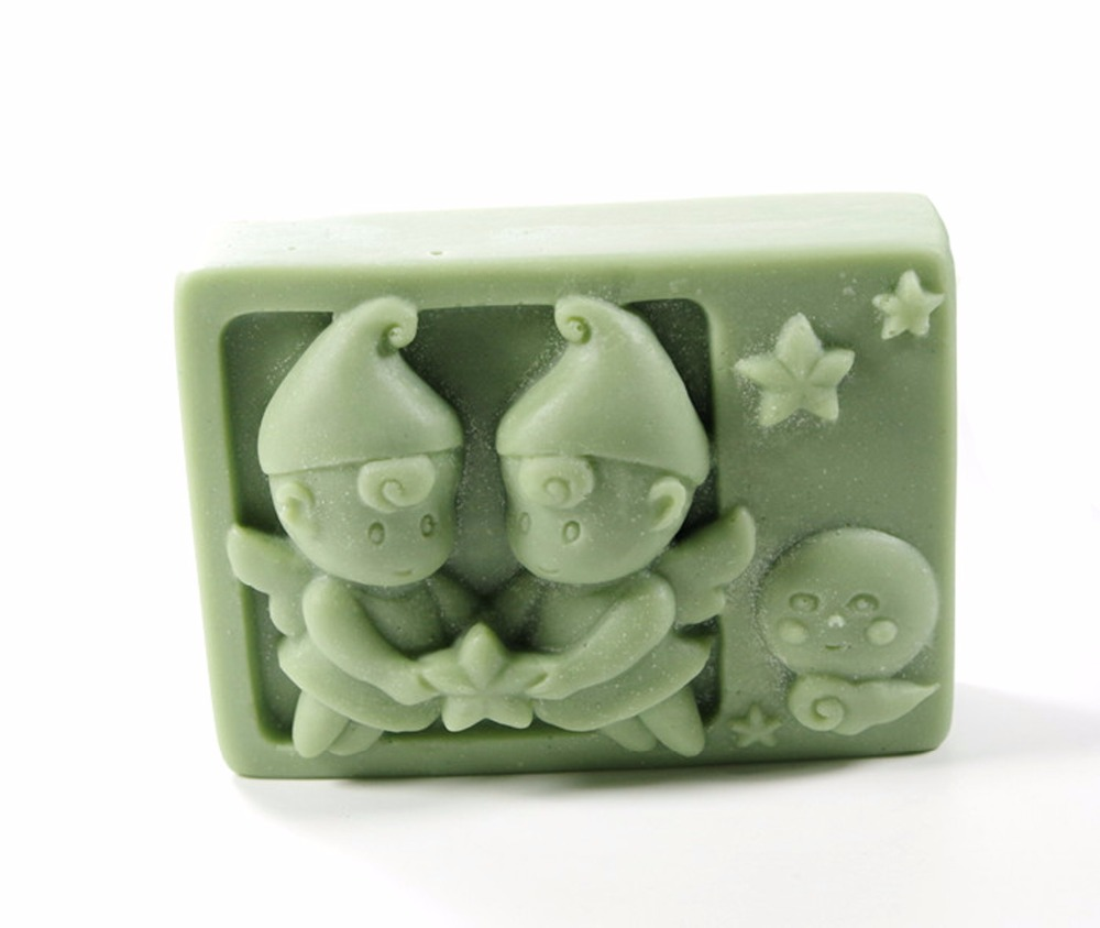 Gemini constellations Mould Craft Art Silicone 3D Soap Mold Craft Molds DIY Handmade Candle Molds S394