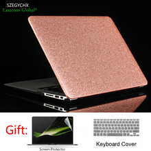 Szegychx блеск Чехол для ноутбука MacBook Air Pro Retina 11 12 13.3 15 для MacBook Новые Pro 13 15 + Экран защитник + крышка клавиатуры