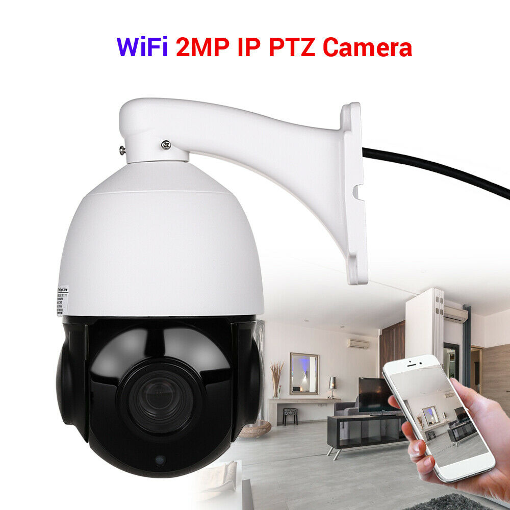 1080P 2MP Wireless IP Camera Wifi Speed Dome PTZ Outdoor IP66 Onvif Two Way Audio IR Night Vision CCTV Security Camera1080P 2MP Wireless IP Camera Wifi Speed Dome PTZ Outdoor IP66 Onvif Two Way Audio IR Night Vision CCTV Security Camera