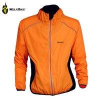 Wolfbike ciclismoサイクリングジャージ乗馬通気性反射ジャージサイクルclothing長袖バイク風コートジャケット