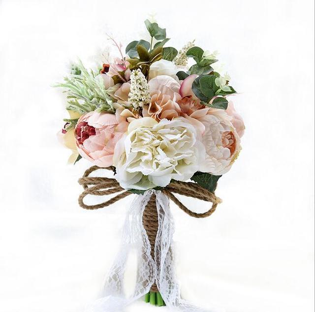 Wedding Bouquet Wedding Flowers Bridal Bouquets Buque De Casamento Bouquet De Mariage Bridesmaid Bouquet Buque De Noiva In Stock