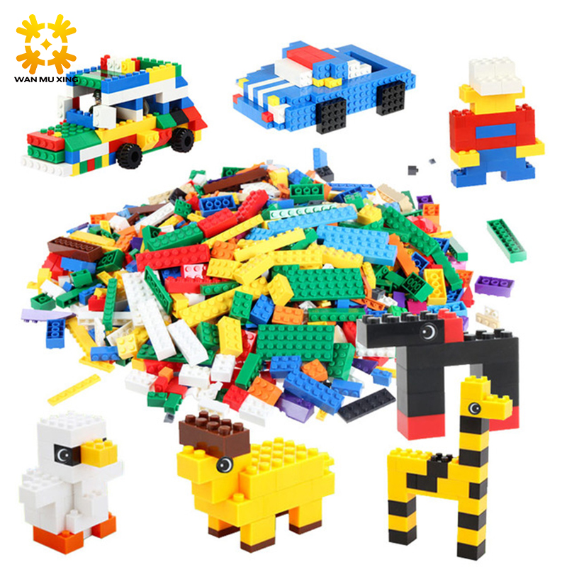Hot 800Pcs Building Blocks DIY Creative Bricks Toys For Children Kids Educational Bricks Compatible with major brand blocks 2016 new sluban 0502 building blocks 415pcs diy creative bricks toys for children educational bricks brinquedos legeod