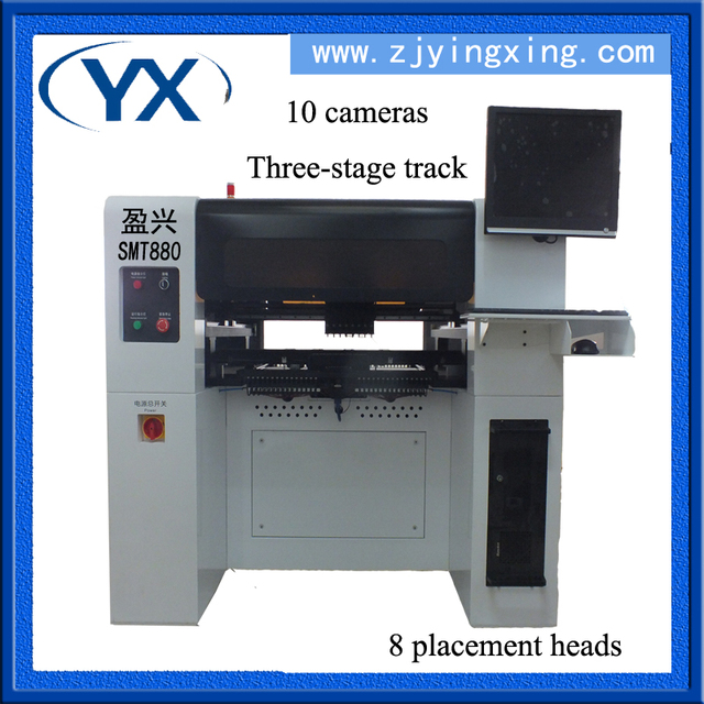 Manufacturing desktop pcb printing smt pick and place led bulb machine