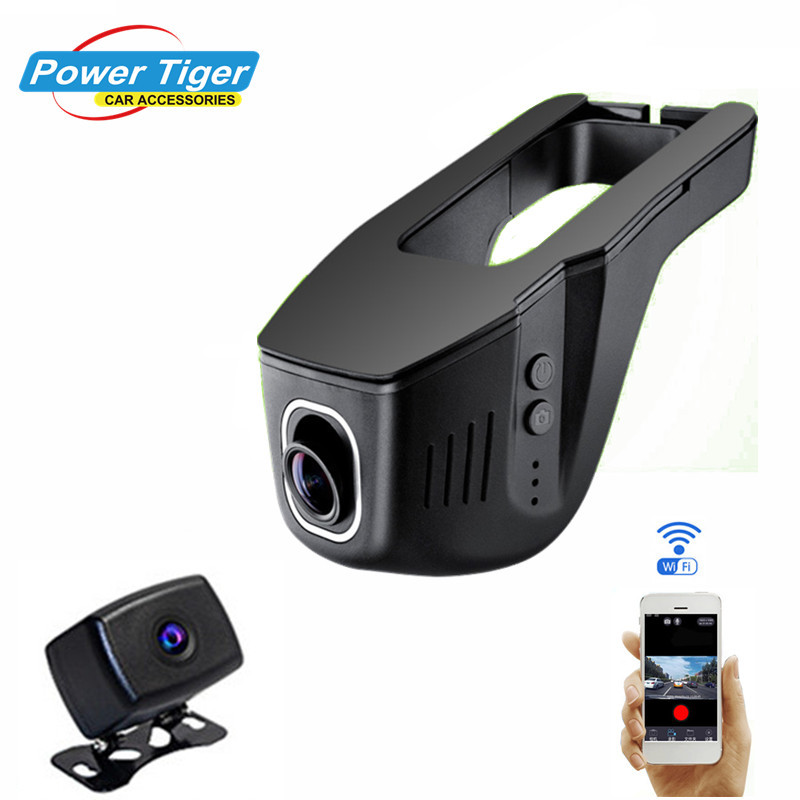 Hidden Car DVR DVRS Registrator Original Novatek 96663 DUAL lens Camera Full HD 1080P auto Black box Dash cam video recorder bigbigroad for nissan qashqai car wifi dvr driving video recorder novatek 96655 car black box g sensor dash cam night vision
