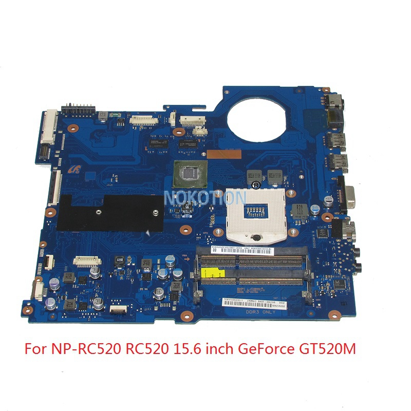 NOKOTION BA92-08079A BA92-08079B laptop motherboard For samsung NP-RC520 RC520 15 inch HM65 DDR3 GeForce GT520M 1GB ibanez rc520 jsg roadcore