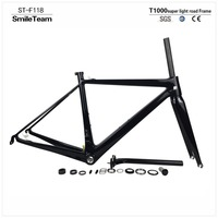 2015 New 800g Bicycle Carbon Road Frame Super Light Carbon Road Frame Free Shipping Frame Fork