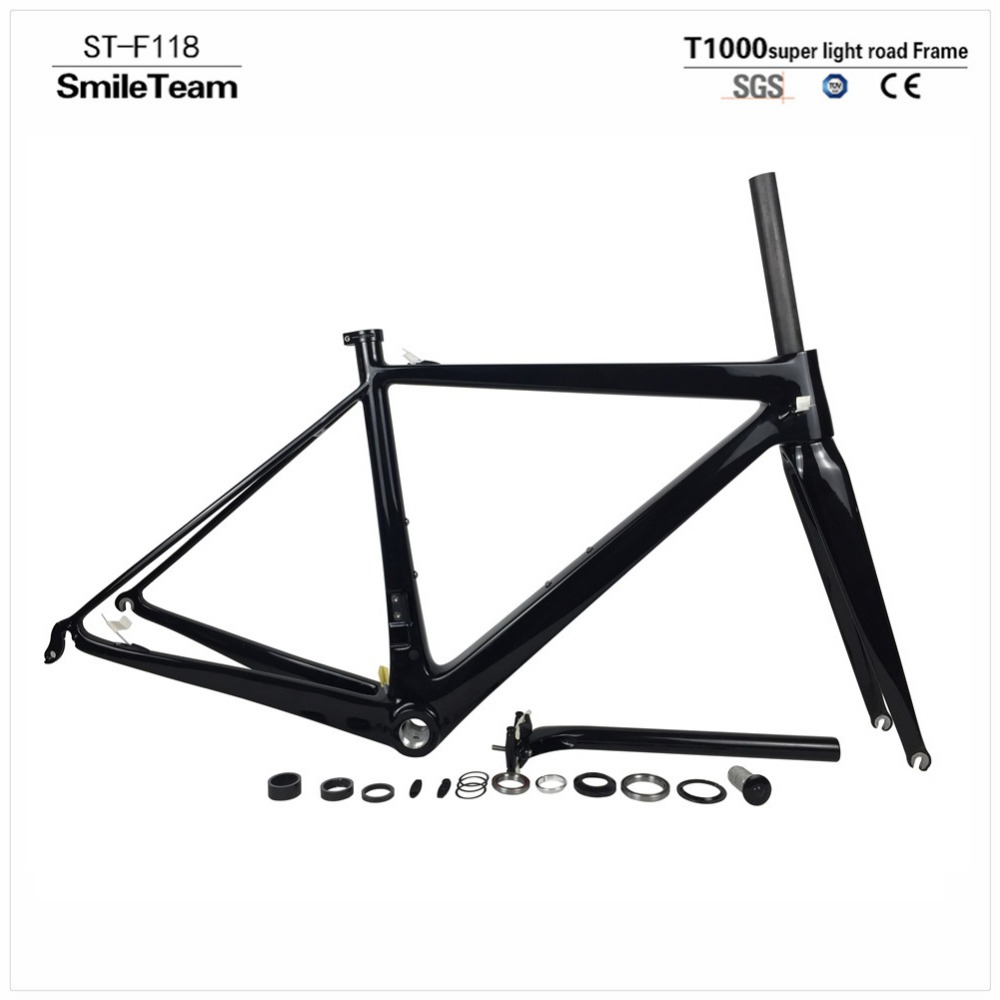 SmileTeam New Design T1000 Full Carbon Road Bike Frame Di2 and Mechanical Carbon Road Bicycle Frameset Super Light only 800g автоинструменты new design autocom cdp 2014 2 3in1 led ds150