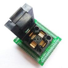 TQFP64 LQFP64 QFP64 гнездо адаптера микросхема Тесты сжигание сиденье STM32 QFP64 0.5 м программист LQFP64 адаптер