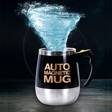 цена на Creative Mugs Automatic Electric Lazy Self Stirring Mug Cup Coffee Milk Mixing Mug Smart Stainless Steel Juice Mix Cup Drinkware
