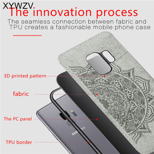 Image 3 - For Samsung Galaxy S9 Case Soft TPU Silicone Luxury Cloth Texture Hard PC Phone Case For Samsung Galaxy S9 Cover For Samsung S9