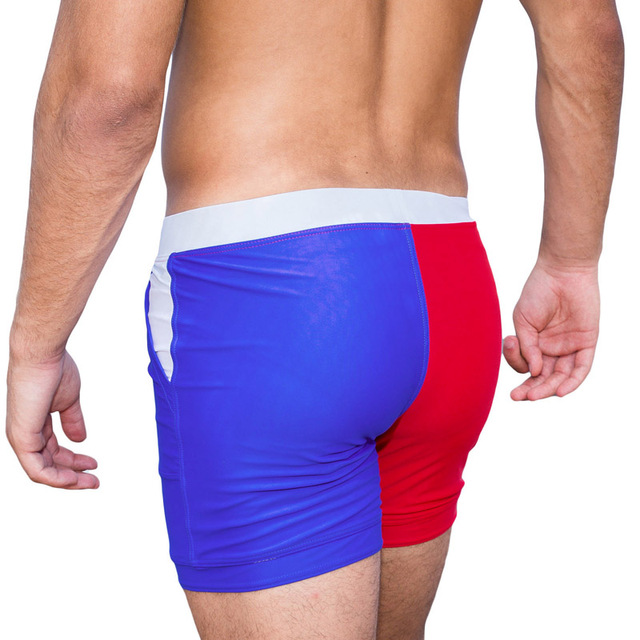 Taddlee Brand Sexy Men's Swimwear Swimsuits Man Plus Big Size XXL Basic Beach Long Board Shorts Boxer Trunks Pocket Men