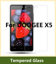 DOOGEE X5 Tempered Glass 100% Original Explosion-proof Scratch-proof Screen Protector film for DOOGEE X5 Pro Free Shipping