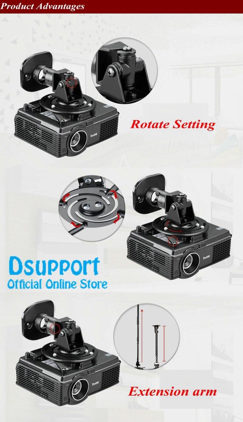 Suportes p/ projetor