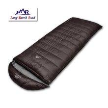 Falling LMR outdoor ultralight 400g/600g/800g/1000g kaczki puszka może być łączone górskie camping śpiwór koperta
