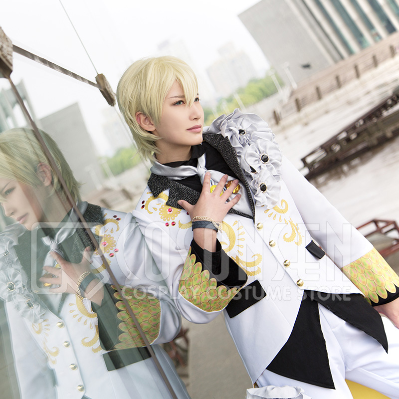 Anime Idolish7 OP Nagi Rokuya WiSH VOYAGE Cosplay Costume new Full Set All Sizes COSPLAYONSEN adult