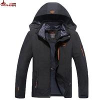 Big Size 6XL 7XL 8XL Male Jacket 2016 Spring Autumn Quality Brand Waterproof Windproof Jacket Coat