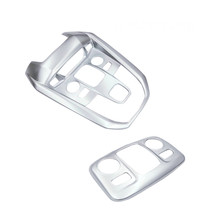 For Peugeot 3008 3008GT 2016 2017 / 5008 5008GT 2017 2018 ABS Interior Front & Rear Reading Light Lamp Cover 2pcs Car Styling!