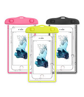 200 шт./лот Универсальный водонепроницаемый телефон сумка чехол для iPhone Samsung Galaxy S6 S5 S7 DHL Бесплатная