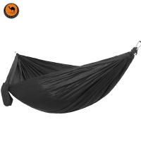 Camping Hammock Double Camp Hamac Portable Lightweight Nylon Fabric For Outdoor Travel Suspension Handy Hammoc
