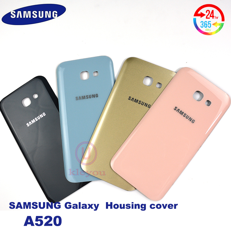 Original Samsung Galaxy A5 2017 A520 A520F Original Mobile Phone Glass Cases Housing Battery Back Cover Adhesive