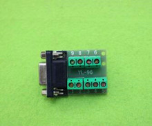 Free Shipping!!  Female / RS232 / DB9 transfer terminal / serial-to-terminal / DR9 connector module sensor /Electronic Component