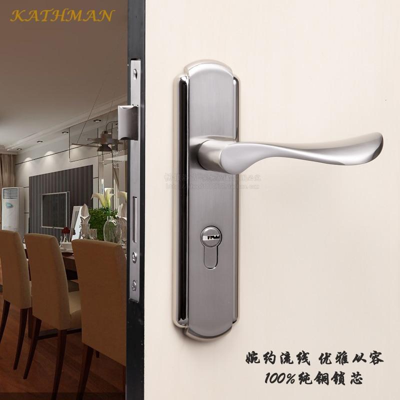 Cheap Minimalist Interior Door Stainless Steel Door Handle Modern