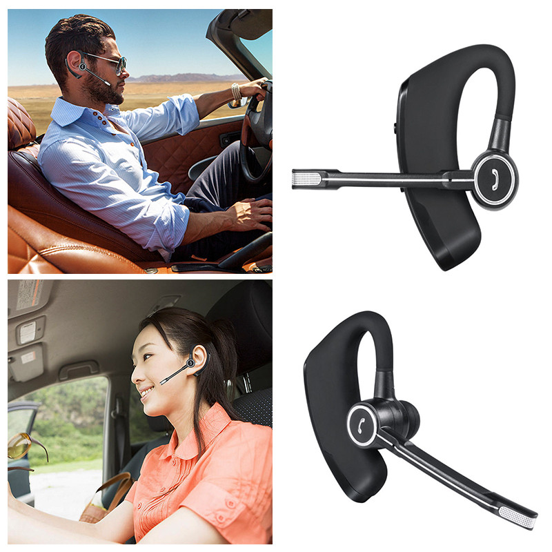 Ny 4.1 Bluetooth Headset Handsfree Wireless Stereo Hovedtelefon til iPhone Android Smart Phone