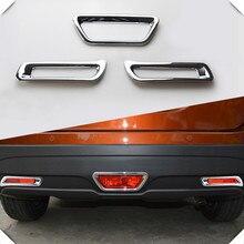 Для Suzuki SX4 S-Cross ABS хромированный задний тормозной светильник, рамка, задний противотуманный светильник, накладка, аксессуары для стайлинга автомобилей