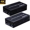 HDMI удлинитель 60 m 4 K hdmi-повторитель по Cat 6 Cat5e Ethernet кабели для ПК DVD Sky HD Box PS3 PS4 спутниковая коробка и другие устройства