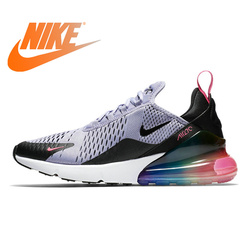 Original Athletic Nike Air Max 270 Men's Running Shoes Sneakers Outdoor Sports Lace-up Jogging Walking Designer 2019 New AH8050