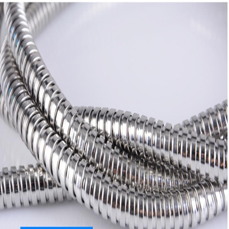 1pcs 304 Stainless Steel Metal Threaded Hose Metal Corrugated Hose Wire Sleeve Stainless Steel Metal Hose