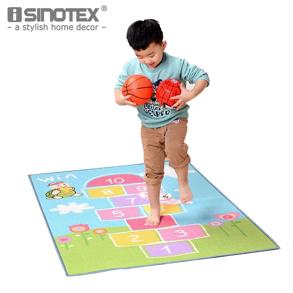 1 pièces enfants développer des cartes bébé ramper jouer tapis éducatif numéro lettre bande dessinée Puzzle tapis doux jouets tapis