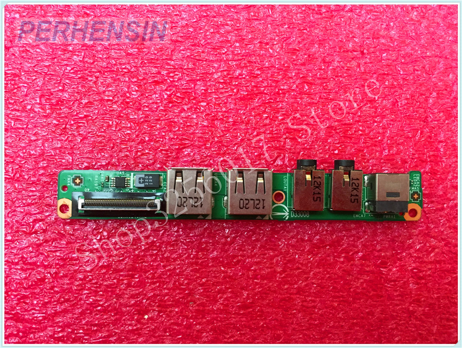 FOR MSI FOR X370 DC IN Power Jack USB Port Board Audio Jack BOARD MS 1356N
