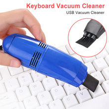 Useful Mini Computer Vacuum USB Keyboard Brush Cleaner Laptop Brush Dust Cleaning Kit Household Cleaning Tool(China)
