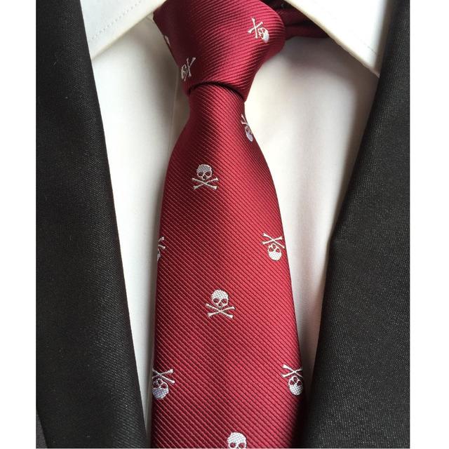 Skull Neck Tie for Men